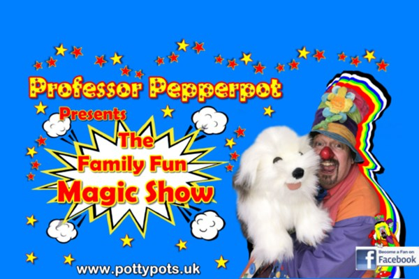 Professor Pepperpot - The Family Fun Magic Show